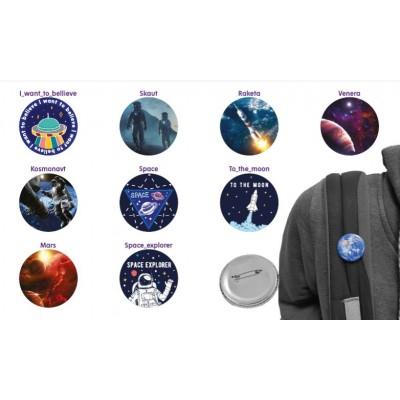 Космические значки